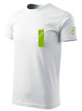 Fitness007 Pánske tričko biele #jdudosebe