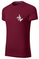 Jirka Vacek Pánske tričko bordo