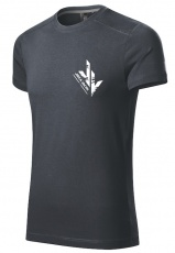 Jirka Vacek Pánske tričko šedá
