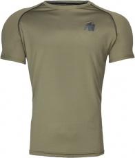 Gorilla Wear Pánske tričko Performance T-shirt Army/Green