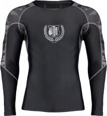 Gorilla Wear Pánske tričko s dlhým rukávom Lander Rashguard Black/Grey