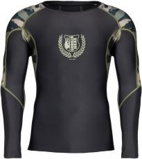 Gorilla Wear Pánske tričko s dlhým rukávom Lander Rashguard Army Green