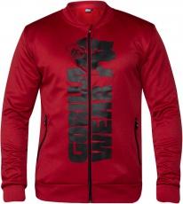 Gorilla Wear Pánska mikina Ballinger Track Jacket Red