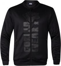 Gorilla Wear Pánska mikina Ballinger Track Jacket Black