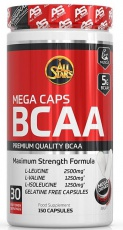 All Stars Mega BCAA 150 kapsúl