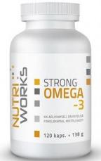NutriWorks Omega 3 Strong 120 kapsúl