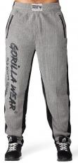 Gorilla Wear Pánske tepláky Augustine Old School Pants Gray