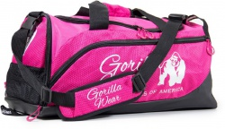 Gorilla Wear Športová taška Santa Rosa Gym Bag - ružová/čierna