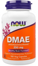 Now Foods DMAE 250mg 100 kapsúl