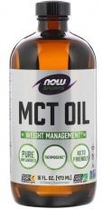 Now Foods MCT olej 473 ml - bez príchuti