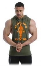 Gold's Gym Pánska vesta GGSWT143 khaki