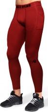 Gorilla Wear Pánske legíny Smart Tights Red
