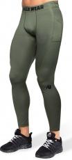 Gorilla Wear Pánske legíny Smart Tights Army Green