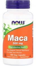 Now Foods Maca 500 mg 100 rostlinných kapsúl