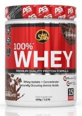 All Stars 100% Whey protein 450 g PREŠLÁ DMT