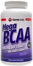 Carne Labs Mega BCAA 2100mg 100 tabliet PREŠLA DMT 2.5.2021