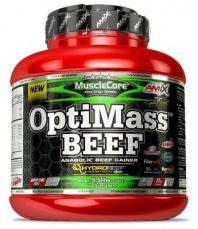 Amix OptiMass Beef Gainer 2500 g - dvojitá čokoláda/kokos