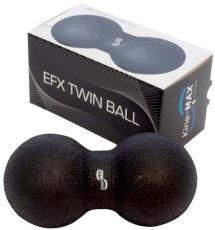 Kine-MAX masážný dvojmíček Twin Ball - čierny
