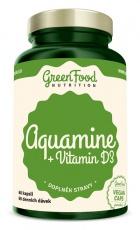 GreenFood Aquamin + Vitamin D3 60 kapsúl