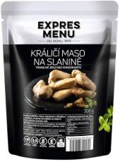 Expres menu Králičie mäso na slanine 300 g