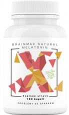 BrainMax Natural Melatonin 120 kapsúl