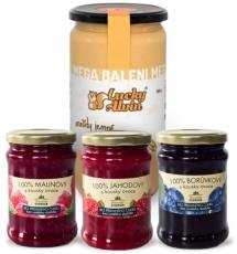 Lucky Alvin Arašidy + 3x džem v darčekovém balení