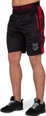 Gorilla Wear Pánske šortky Shelby Black/red