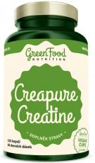 GreenFood Creatine Creapure 120 kapsúl