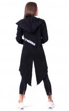Nebbia Be rebel! Predĺžený kabát 681 black
