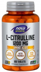 Now Foods L-Citrulline 1200 mg 120 tabliet