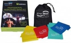 Kine-MAX Professional Resistance Band (set posilňovacích gum level 1-4)