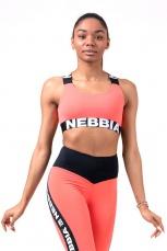 Nebbia Power Your Hero športová podprsenka 535 peach