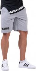 Nebbia Legday Hero šortky 179 šedé