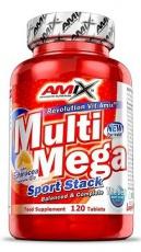 Amix Multi Mega Sport Stack 120 tabliet + Vitamin C 500 mg 125 kapsúl ZADARMO