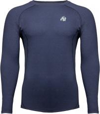 Gorilla Wear Pánske tričko s dlhým rukávom Rentz Long Sleeve Navy Blue