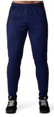 Gorilla Wear Pánske tepláky Ballinger Track Pants Navy Blue/Black
