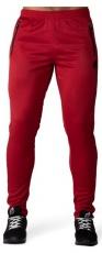 Gorilla Wear Pánske tepláky Ballinger Track Pants Red/Blac