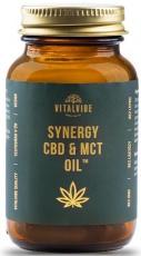 Vitalvibe Synergy CBD & MCT Oil 60 kapsúl