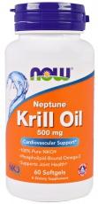 Now Foods Krill Oil Neptune 500 mg 60 kapsúl