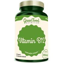 GreenFood Vitamín B12 60 kapsúl
