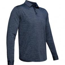 Pánske triko s golierikom Under Armour Long Sleeve Playoff 2.0 Polo - 1345463-408