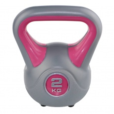 Kettlebell fit Sveltus 2kg - ružový - 1194-OSFA