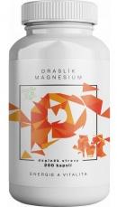 BrainMax Draslík Magnesium, Draslík citrát + Horčík malát 200 kapsúl