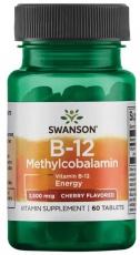 Swanson Vitamin B12 Methylcobalamin 60 tabliet
