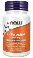 Now Foods L-Tyrosine 500 mg 120 kapsúl