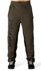 Gorilla Wear Pánske tepláky Augustine Old School Pants Army Green