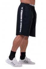 Nebbia Pánske šortky Essential 177 čierna