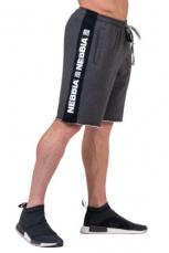 Nebbia Pánske šortky Essential 177 šedá