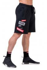 Nebbia Pánske šortky Boys 178 čierna