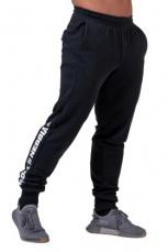 Nebbia Pánske joggersy Limitless s lampasem 185 čierna